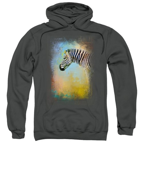 Colorful Expressions Zebra Sweatshirt