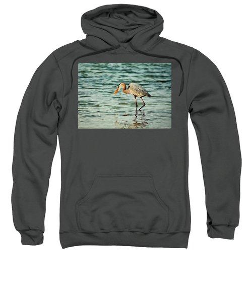 Colorful Heron Sweatshirt