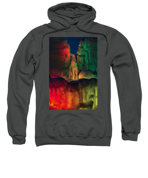 Colorful Ice  Sweatshirt
