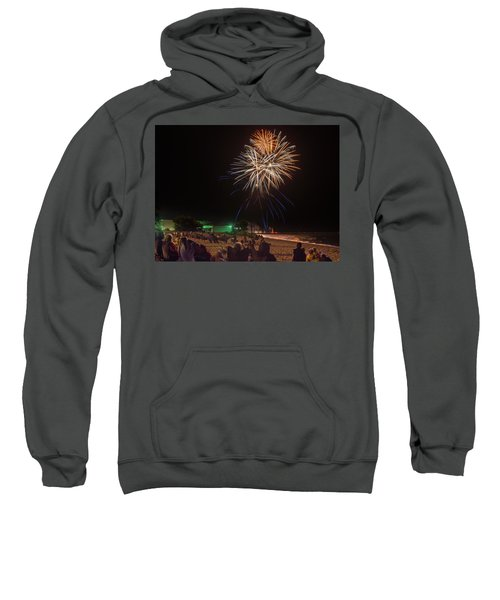 Sweatshirt featuring the photograph Colorful Kewaunee, Fourth by Bill Pevlor