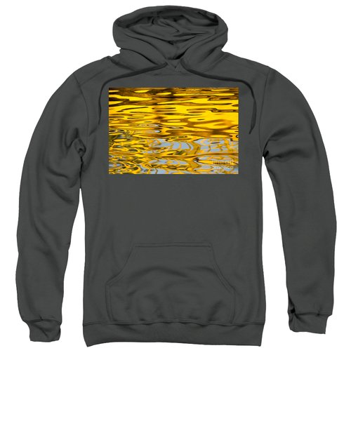 Colorful Reflection In The Water Sweatshirt