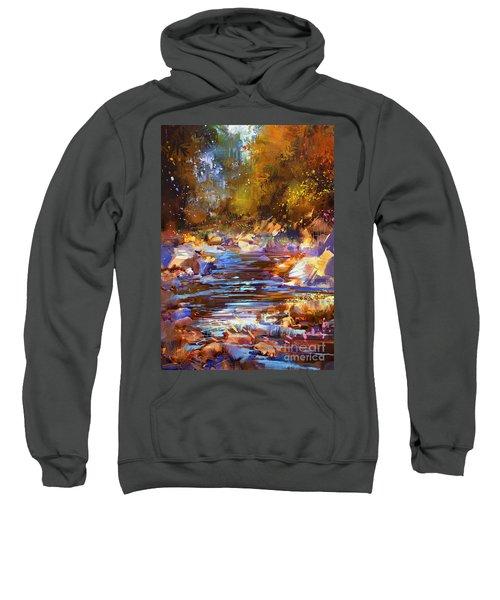 Colorful River Sweatshirt