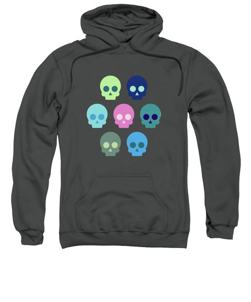 Colorful Skull Cute Pattern Sweatshirt