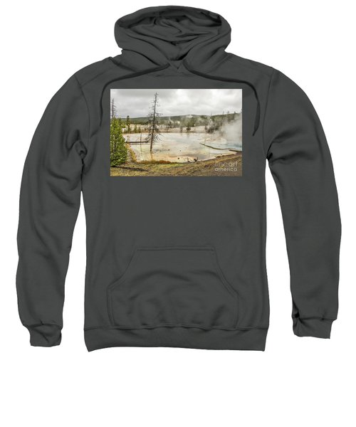 Colorful Thermal Pool Sweatshirt