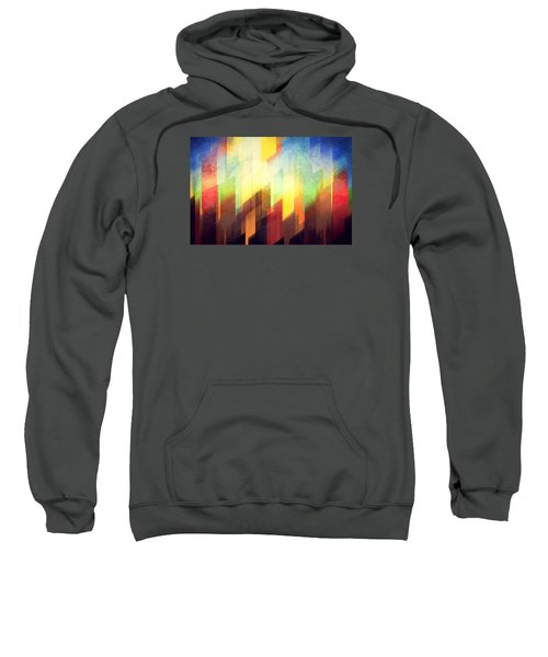 Colorful Urban Design Sweatshirt