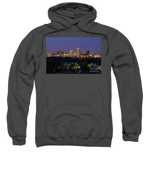 Columbia Skyline At Twilight Sweatshirt