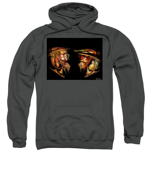Coming Face To Face Sweatshirt