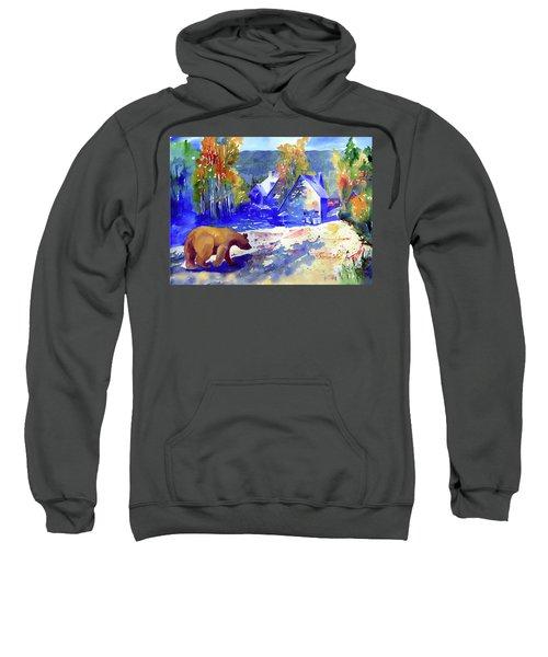 Coming For Dinner At Rainbow Lodge Sweatshirt