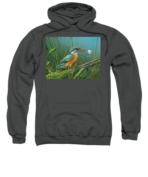 Common Kingfisher Sweatshirt