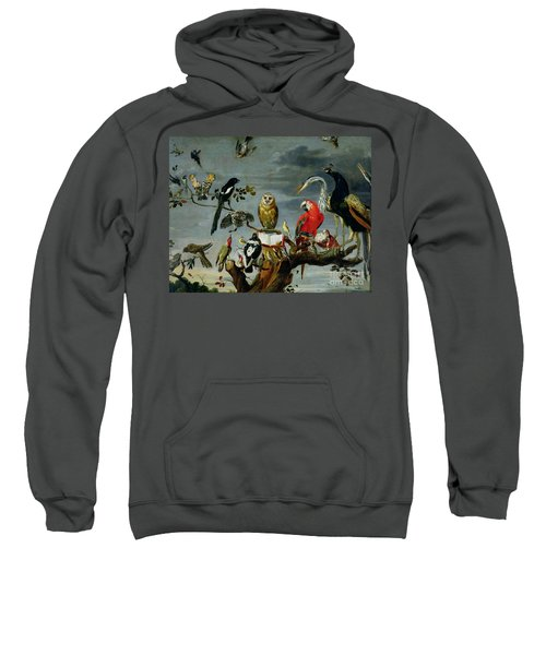 Concert Of Birds Sweatshirt by Frans Snijders