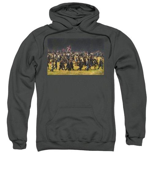 Confederate Charge At Gettysburg Sweatshirt