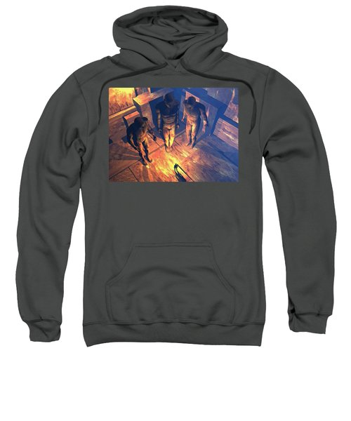 Confronted By Malignant Forces Sweatshirt