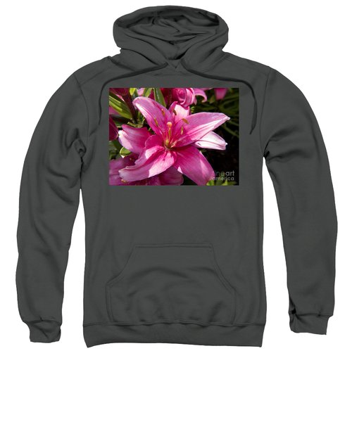 A Lily Speaks Of Love In The Language Of The Heart Sweatshirt