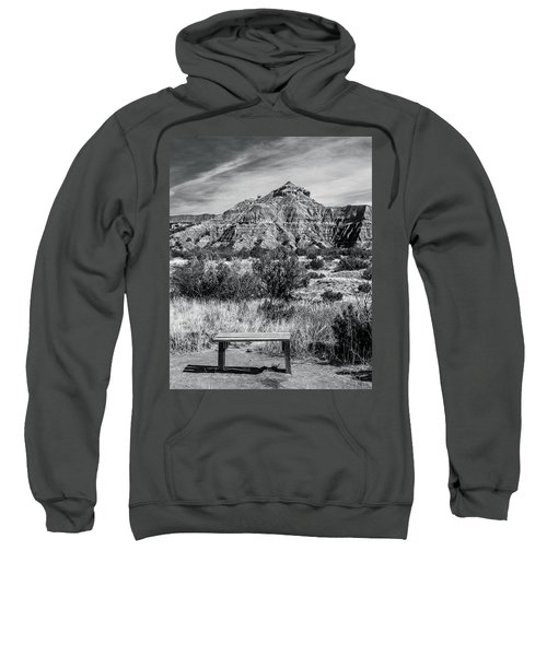 Contemplation Bench Bw Sweatshirt