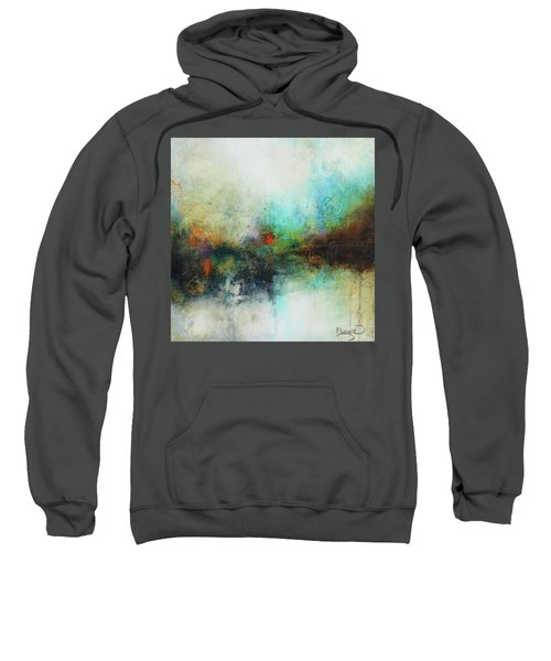 Contemporary Abstract Art Painting Sweatshirt