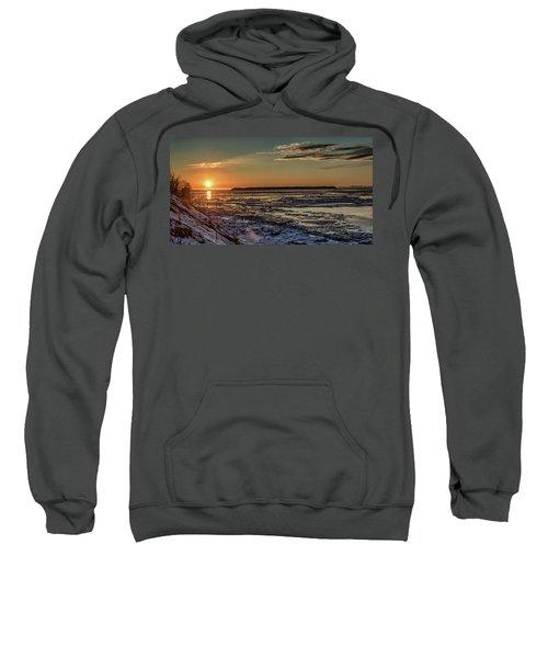 Cook Inlet Sunset Alaska  Sweatshirt