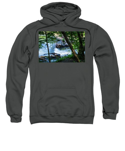 Cool Mountain Stream Sweatshirt