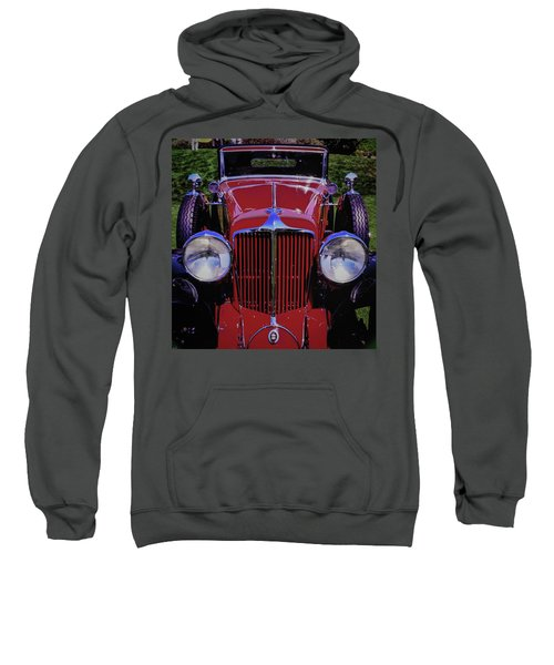 Cord Coupe Sweatshirt