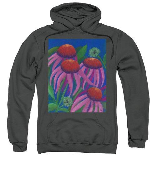 Cosmic Coneflowers Sweatshirt