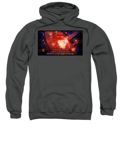 Cosmic Inspiration God Source 2 Sweatshirt