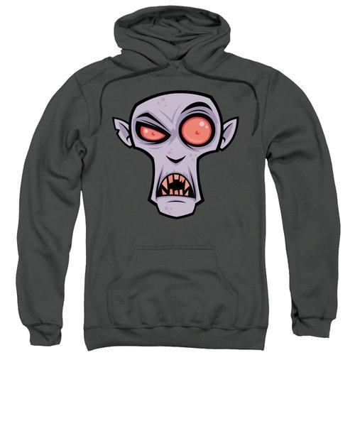 Count Dracula Sweatshirt by John Schwegel