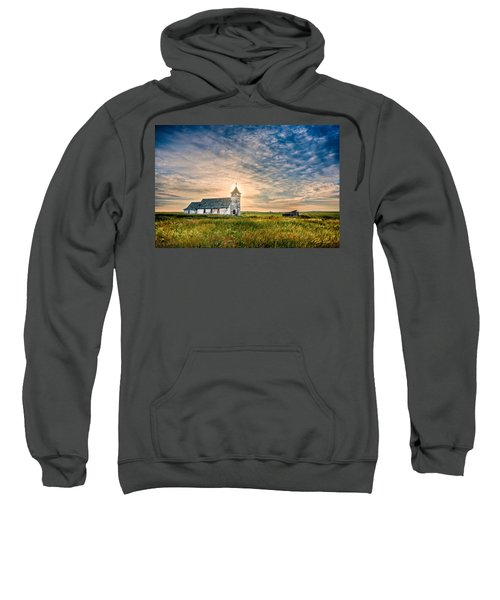 Country Church Sunrise Sweatshirt