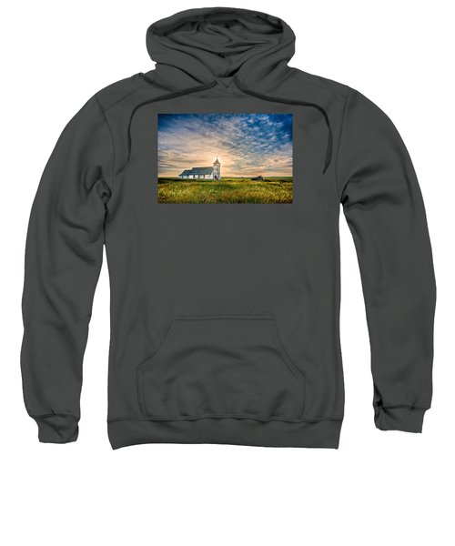 Country Church Sunrise Sweatshirt