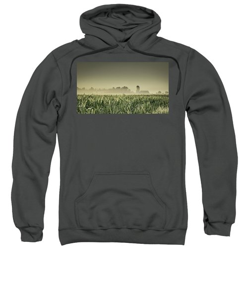 Country Farm Landscape Sweatshirt