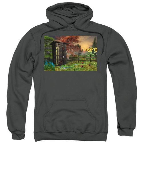 Country Outhouse Sweatshirt