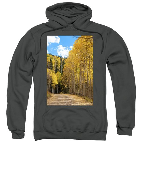 Country Roads Sweatshirt by David Chandler