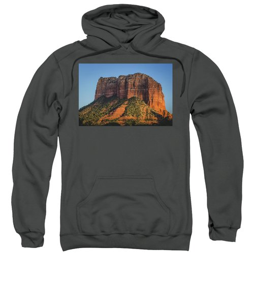 Courthouse Butte At Sunset Sweatshirt