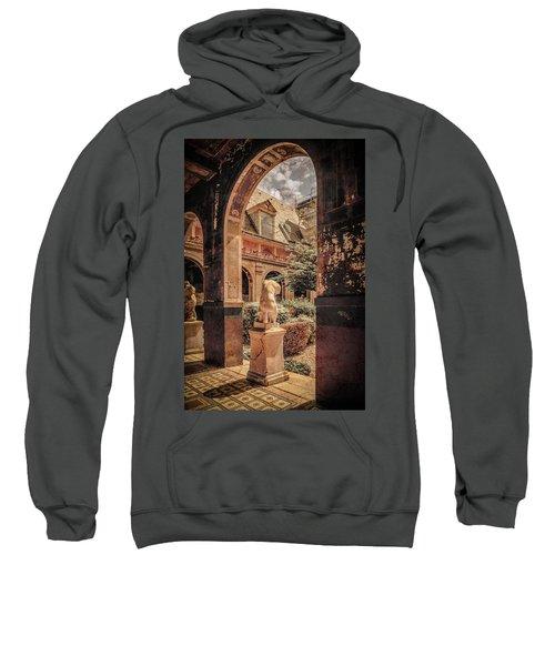 Paris, France - Courtyard East - L'ecole Des Beaux-arts Sweatshirt