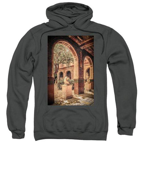 Paris, France - Courtyard West - L'ecole Des Beaux-arts Sweatshirt