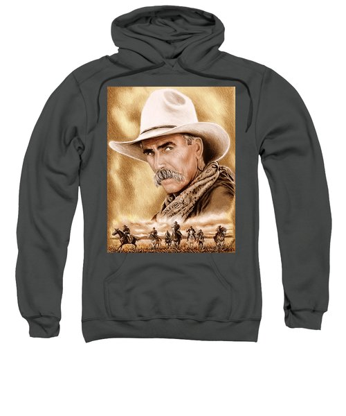 Cowboy Sepia Edit Sweatshirt