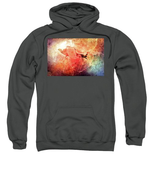 Cracks Of Colors Sweatshirt