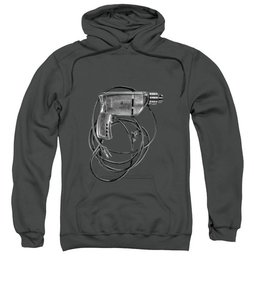Craftsman Drill Motor Bs Bw Sweatshirt by YoPedro
