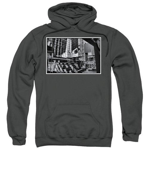 Crane In Manhattan Sweatshirt