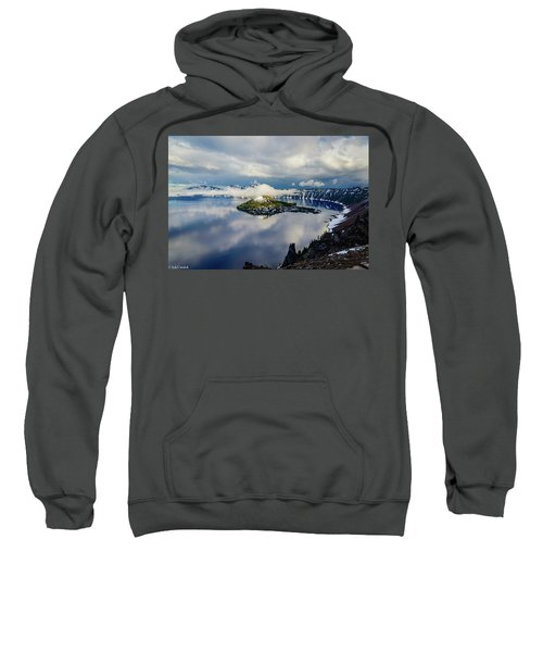Crater Lake Storm Sweatshirt