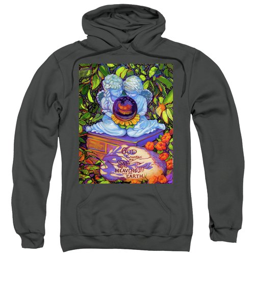 Garden Wisdom 1-creation Sweatshirt