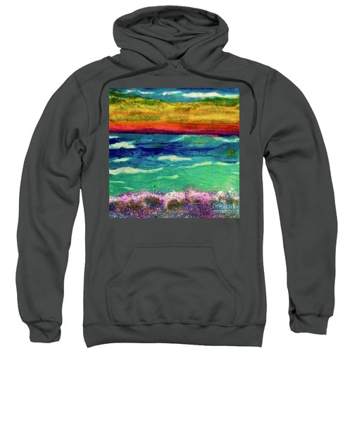 Crepe Paper Sunset Sweatshirt