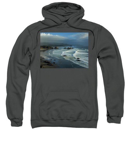 Crescent Beach And Surf Sweatshirt