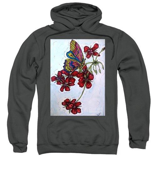 Crimson Fancy Sweatshirt