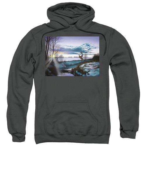 Crisp Winter Light Sweatshirt