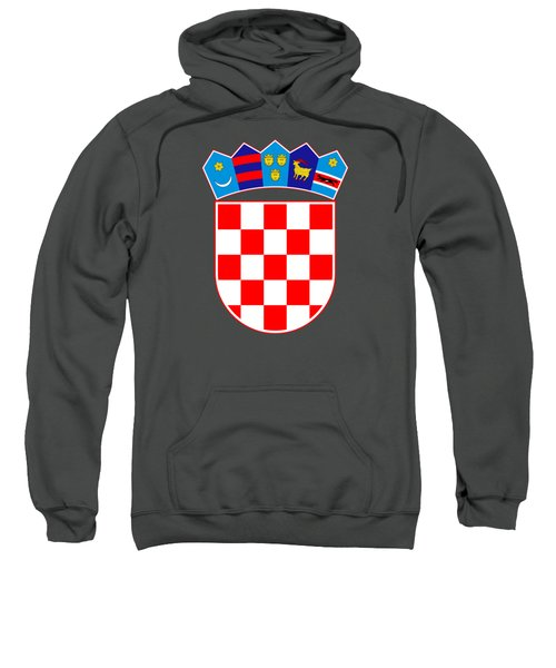 Croatia Coat Of Arms Sweatshirt