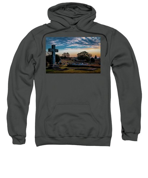 Cross At Sunset Sweatshirt
