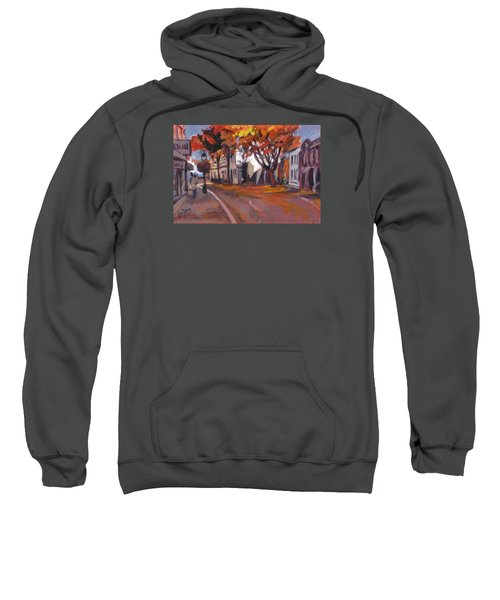 Crossing In Maastricht Sweatshirt