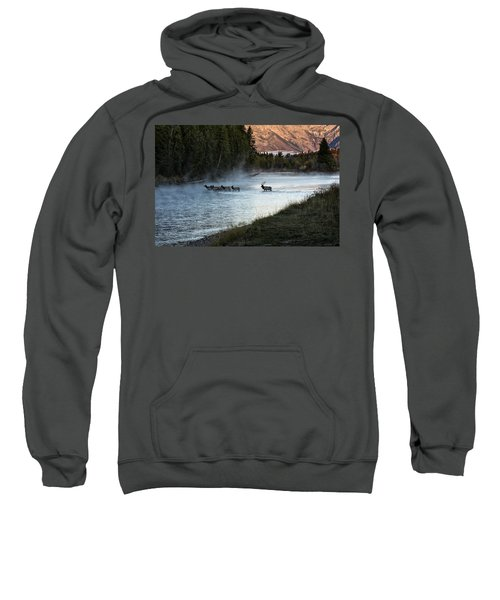 Crossing The River Sweatshirt