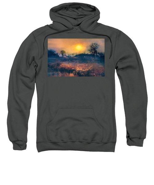 Crossing Through The Meadows Sweatshirt