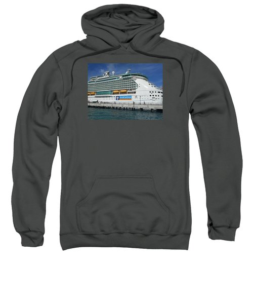 Cruise Ship Sweatshirt by Kathleen Peck
