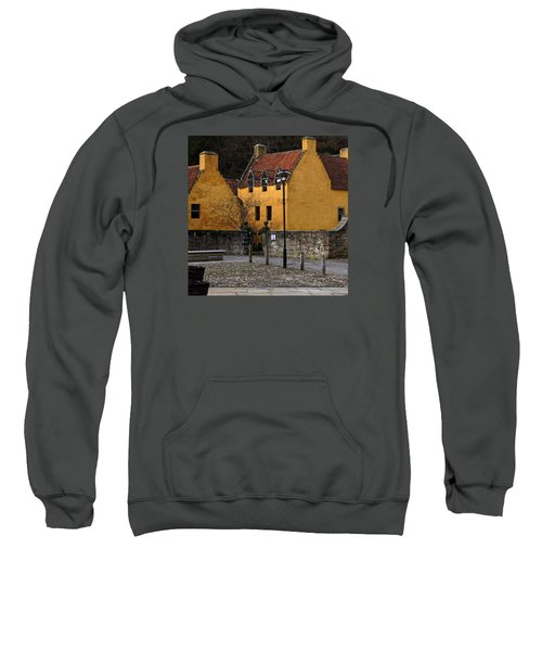 Sweatshirt featuring the photograph Culross by Jeremy Lavender Photography